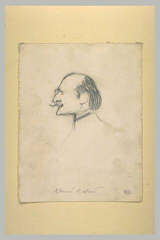Caricature d'Edmond Rostand