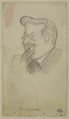 Portrait de Charles Léandre