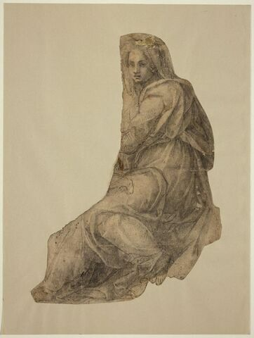 Vierge à l'Enfant  (fragment)