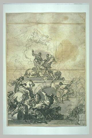 Scène de martyre : le massacre des Giustiniani