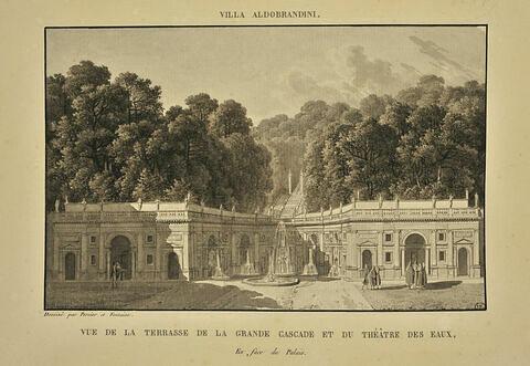 Vue de la villa Aldobrandini