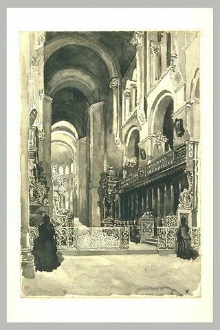 Le choeur de l'église Saint-Sernin à Toulouse