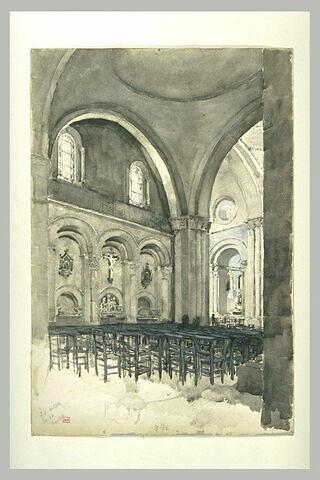 Angoulême : cathédrale Saint-Pierre, une travée de la nef