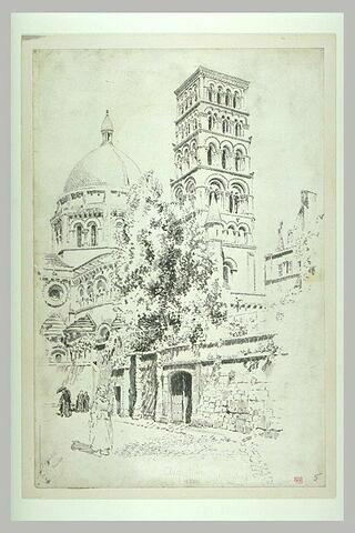 Angoulême, cathédrale Saint-Pierre : dôme et tour