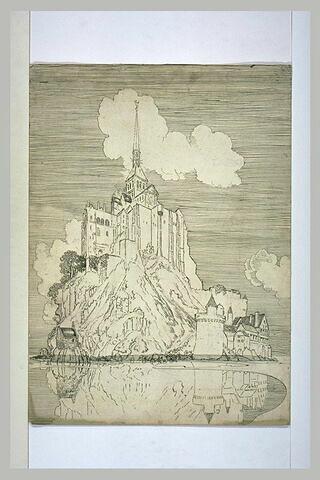 Le Mont Saint-Michel, coté ouest
