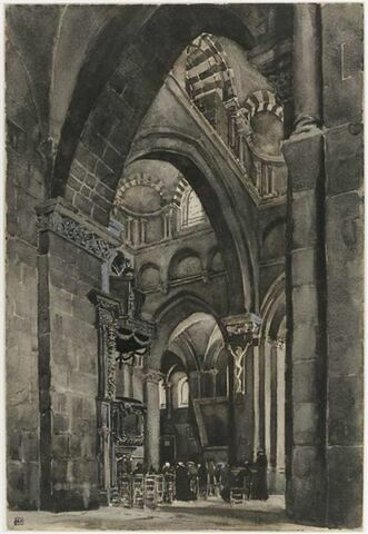 Les coupoles de la nef de la cathédrale du Puy