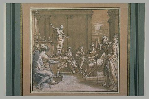 Jésus dans le Temple au milieu des docteurs