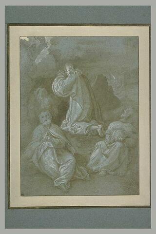 La prière au Jardin des oliviers
