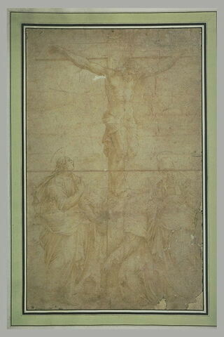Saint Jean, Madeleine et la Vierge au pied de la Croix