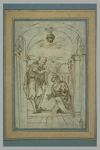 Le Christ apparaît à Madeleine