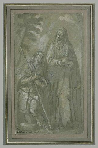 Saint Roch et sainte Otilia