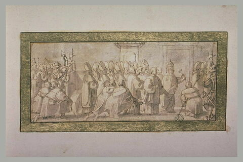 Ouverture de la Porte Sainte le 24 décembre 1649
