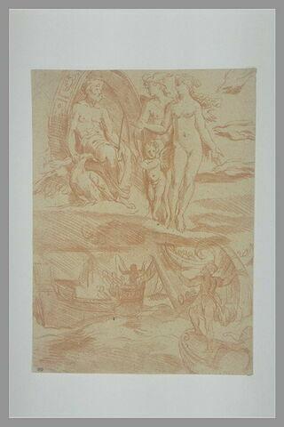 Vénus implorant Jupiter pour Enée