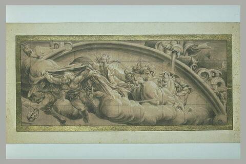 Apollon sur son Char et des signes du Zodiaque : allégorie de l'Hiver
