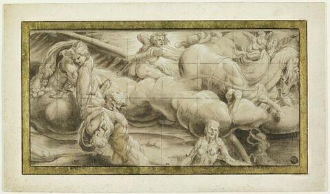 Apollon sur son Char et des signes du Zodiaque : allégorie de l'Automne