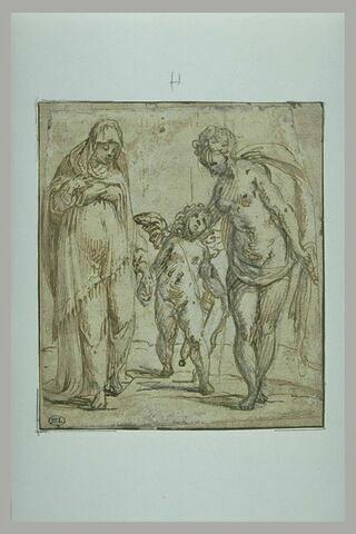L'Amour conduit à Vénus une vieille femme