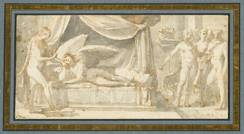 Vénus réprimande l'Amour et se lamente auprès de Junon et Cérès