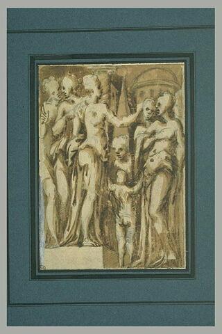 Groupe de déesses