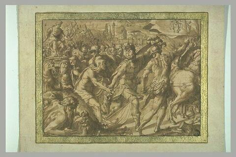 Entrée triomphale d'un souverain dans Rome