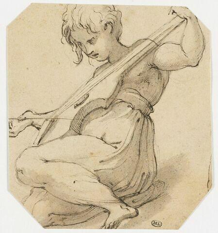 Ange jouant de la viole