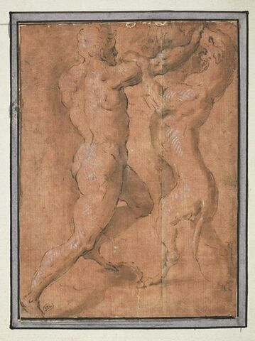 Hercule combattant Cerbère