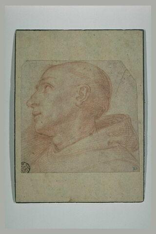 Etude pour la tête de saint Bernard
