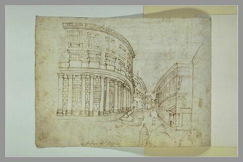 Vue du Palais Massimo alle Colonne