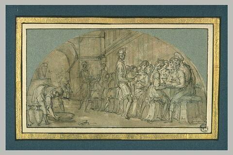 Festin offert par Joseph à ses frères