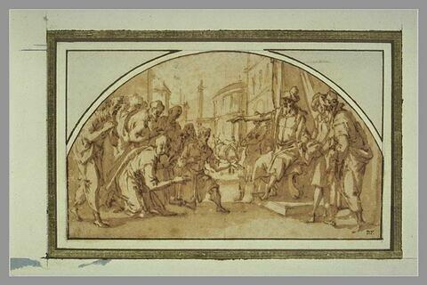 Joseph demande à ses frères de lui laisser Benjamin