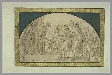 Rencontre de Jacob et Joseph