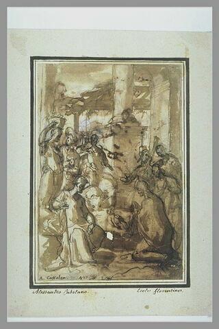 Adoration des bergers