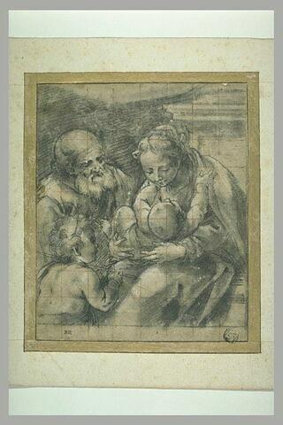 La Sainte Famille et le petit saint Jean