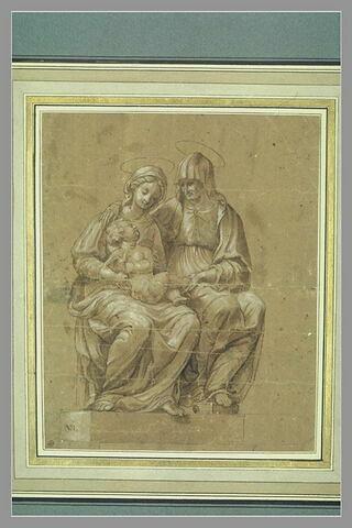Vierge à l'Enfant avec sainte Anne