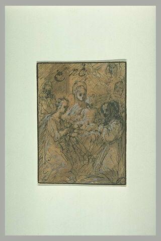Mariage mystique de Sainte Catherine d'Alexandrie