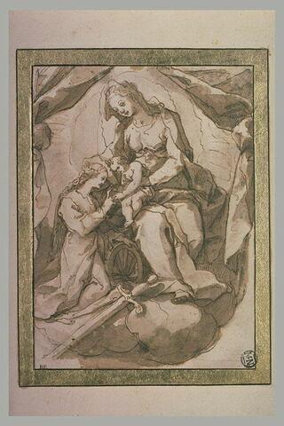 Mariage mystique de Sainte Catherine