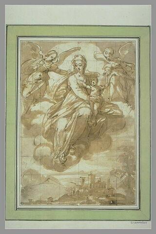 Vierge à l'Enfant protectrice d'une ville
