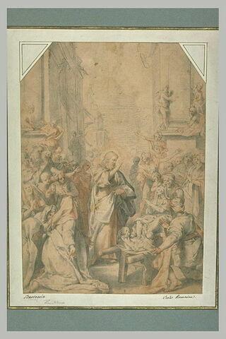 Jésus ressuscitant le fils de la veuve de Naïn