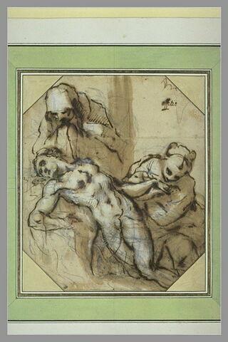 Le Christ mort et deux saintes Femmes
