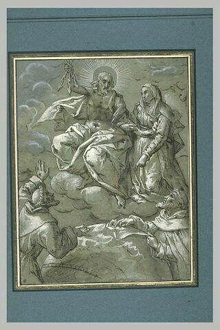 Vision du Christ aux trois fléches