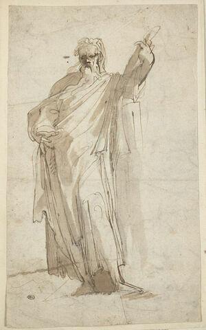 Apôtre debout, de face