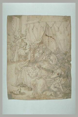 Guérison de Godefroy de Bouillon