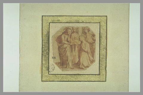 Le Christ remettant l'anneau à sainte Catherine de Sienne