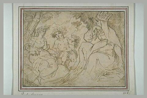 Cybèle, Bacchus et Cérès