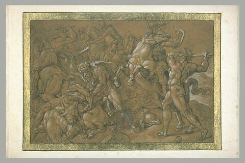 Hercule combattant les amazones