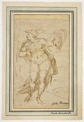 Mercure montrant la tête d'Argus