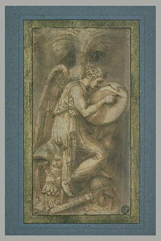 La Victoire écrivant sur un bouclier