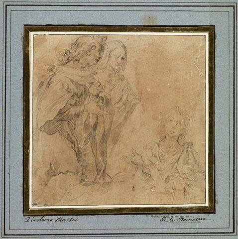 Saint Valérien, le centurion Maximus et son frère Tiburtius