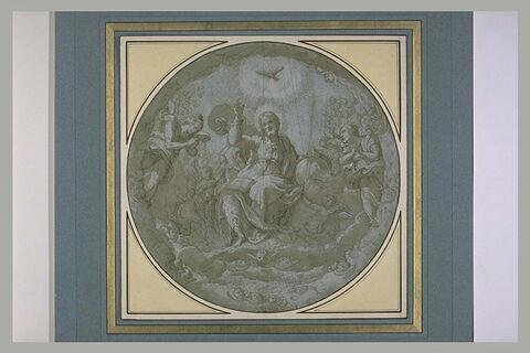 Christ en gloire, bénissant