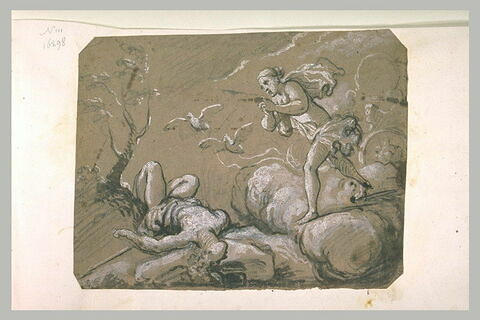 Vénus accourant afin de secourir Adonis blessé