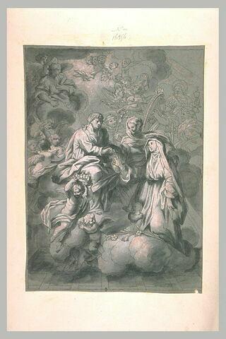Mariage mystique de sainte Catherine de Sienne